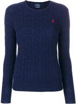 Polo Ralph Lauren crew neck cable knit jumper