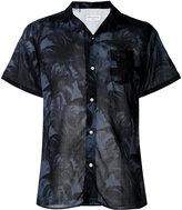 Officine Generale floral print shirt