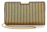 Milly Small Frame Leather Clutch