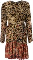 Etro leopard print dress - women - Silk/Viscose - 38