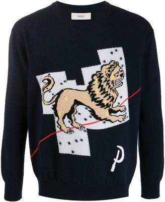 Pringle Lion cashmere jumper