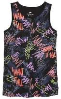 Nike Fresh Prints Glow in the Dark Tank