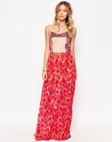 Maaji Strappy Tiered Maxi Beach Dress