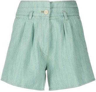 Forte Forte High-Rise Cotton Shorts