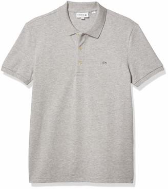 Lacoste Men's Short Sleeve Slim Fit Stretch Petit Pique Polo