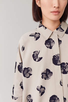 Cos PRINTED WIDE-FIT SHIRT