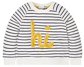 Mothercare Baby Girls' Striped Sweatshirt