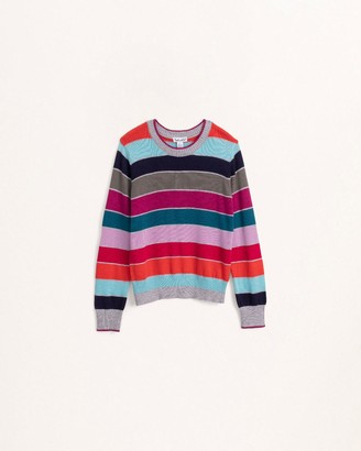 Splendid Little Girl Multi Stripe Sweater