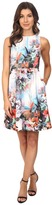 Adrianna Papell 12260230 Floral Print Scuba Dress