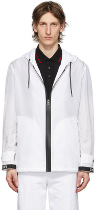 Burberry White Compton Jacket