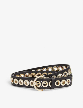 Sandro Adelia studded leather belt