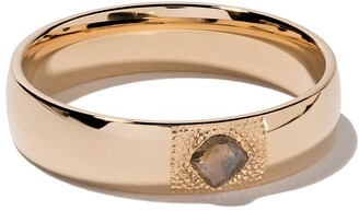 De Beers 18kt yellow gold Talisman diamond 5mm band