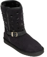 Love Moschino Studded Ankle Strap Boot