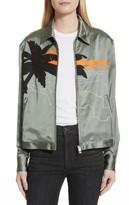 Rag & Bone Women's Roth Embroidered Satin Jacket