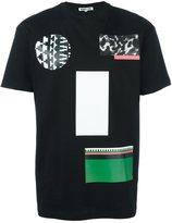 McQ by Alexander McQueen mixed print T-shirt