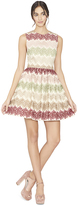 Alice + Olivia Joyce Crew Neck Party Dress