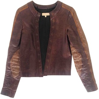 Heimstone Brown Leather Leather Jacket for Women