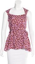 Rachel Comey Tie-Embellished Sleeveless Top
