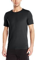 Buffalo David Bitton Men's Microfiber Stretch Crew Neck T-Shirt