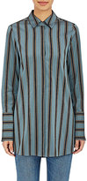 Brock Collection Women's Striped Button-Front Blouse