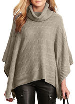 Polo Ralph Lauren Cable-Knit Turtleneck Poncho