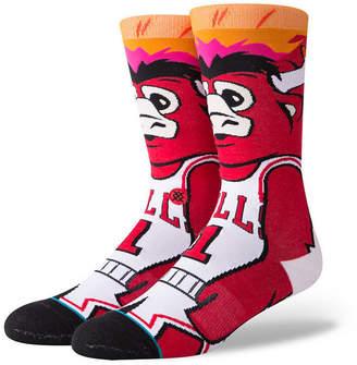 Stance Chicago Bulls Mascot Crew Socks