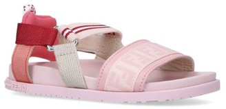 Fendi Elasticated FF Sandals