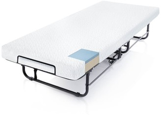 Malouf Rollaway Folding Bed with Premium Gel Memory Foam Mattress - Twin Size by STRUCTURES