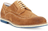 Kenneth Cole Reaction Men's Shoes, Grow-Ceeds Wing-Tip Lace-Up Shoes