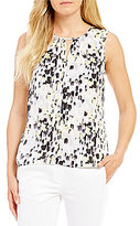 Kasper Abstract Dot Printed Cami
