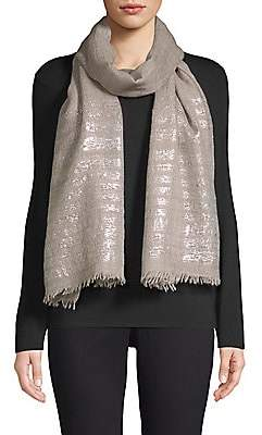 Bindya Women's Striped Cashmere Evening Stole