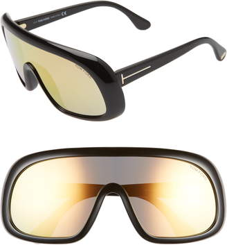 Tom Ford 'Sven' Shield Sunglasses