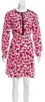 Kate Spade Silk Floral Dress