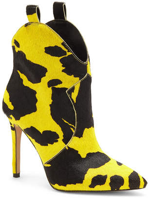 Jessica Simpson Pixille Pointy Toe Western Booties Women Shoes