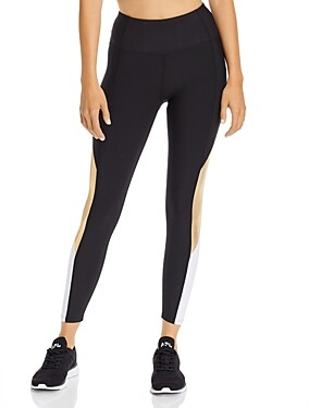 Aqua Athletic Color-Block High-Rise Leggings - 100% Exclusive