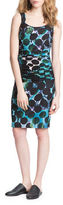 Tracy Reese Dotted Silk Blend Dress