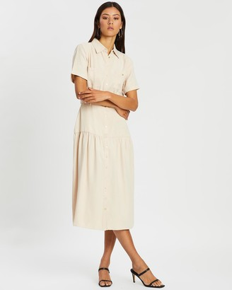 Third Form Le Mode Midi Shirt Dress