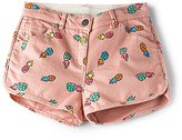 Stella McCartney Kids Emma Girls Denim Shorts in Pink