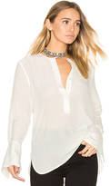Equipment Kenley Silk Blouse in Ivory