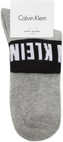 Calvin Klein Khloe icon logo cotton-blend socks