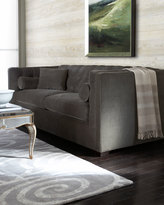Horchow Dusk Tufted Sofa