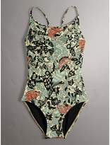 Burberry Beasts Print Swimsuit