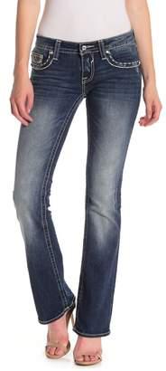 Vigoss Chelsea Embellished Bootcut Jeans