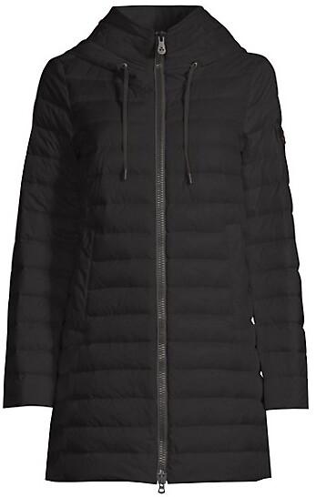 Peuterey Echinata Hooded Down Puffer Jacket