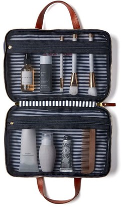 Mark And Graham Terminal 1 Soft Sided Hanging Cosmetic Case