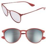 Ray-Ban Women's Highstreet 54Mm Sunglasses - Blue/ Grey