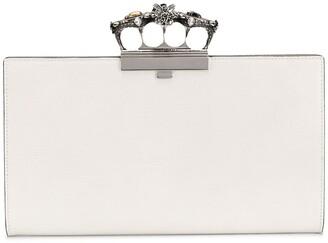 Alexander McQueen Four-Ring Clutch Bag