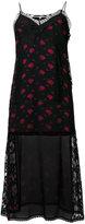 McQ floral print slip dress