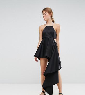 Weekday Press Collection Asymmetric Dress-Black