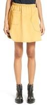 Women's Vejas Worker's Glove Suede Miniskirt